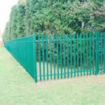 fencing contractor Chatham steel pallasade