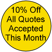 10% off quotes this month